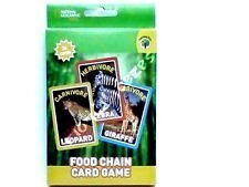 National Geographic Food Chain Card Game (Go Fish)