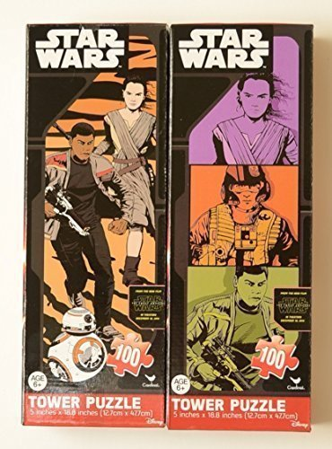 Star Wars Episode 7: The Force Awakens Tower Puzzle Double Pack (100 pieces)