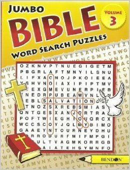 Jumbo Bible Word Search Puzzles Volume 3