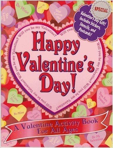 Happy Valentine's Day! Activity Book