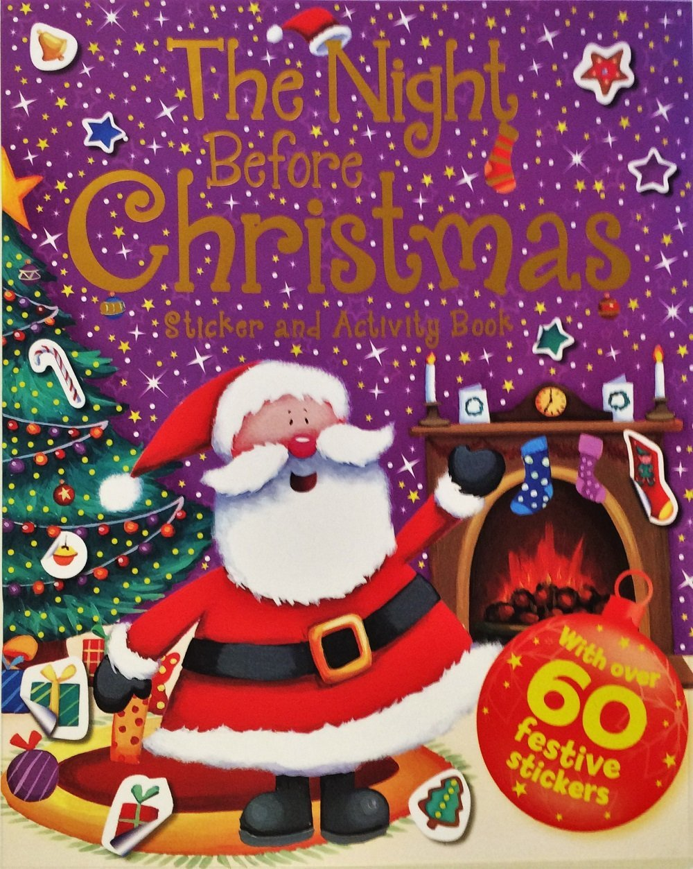 The Night Before Christmas Sticker & Activity Book