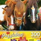 Horses in Fun Park - Puzzlebug 300 Piece Jigsaw Puzzle