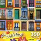 Colorful Windows - Puzzlebug 300 Piece Jigsaw Puzzle
