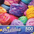 Colorful Yarn - Puzzlebug 500 Piece Puzzle