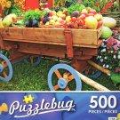 Farm Fresh Vegetable Wagon at the Fair - Puzzlebug 500 Piece jigsaw Puzzle