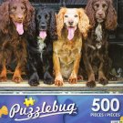 Cocker Spaniels Sitting in the Back of a Pickup Truck - Puzzlebug 500 Piece jigsaw Puzzle