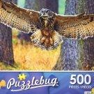 Flying Eurasian Eagle Owl - Puzzlebug 500 Piece jigsaw Puzzle