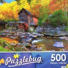 Old Grist Mill, West Virginia - Puzzlebug 500 Piece jigsaw Puzzle
