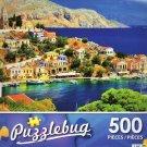 Picturesque Greece, Symi Island, Dodecanese - Puzzlebug 500 Piece jigsaw Puzzle
