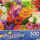 Colorful Bouquet - Puzzlebug 500 Piece jigsaw Puzzle