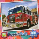Red Firetruck - Puzzlebug 100 Piece Jigsaw Puzzle
