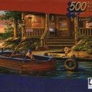 Pepsi-Cola Vintage  Puzzle Collection - Marina - 500 Piece Jigsaw Puzzle