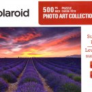 Sunrise over Lavender - Polaroid Photo Art Collection - 500 Piece Jigsaw Puzzle