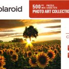Field of Gold - Polaroid Photo Art Collection - 500 Piece Jigsaw Puzzle