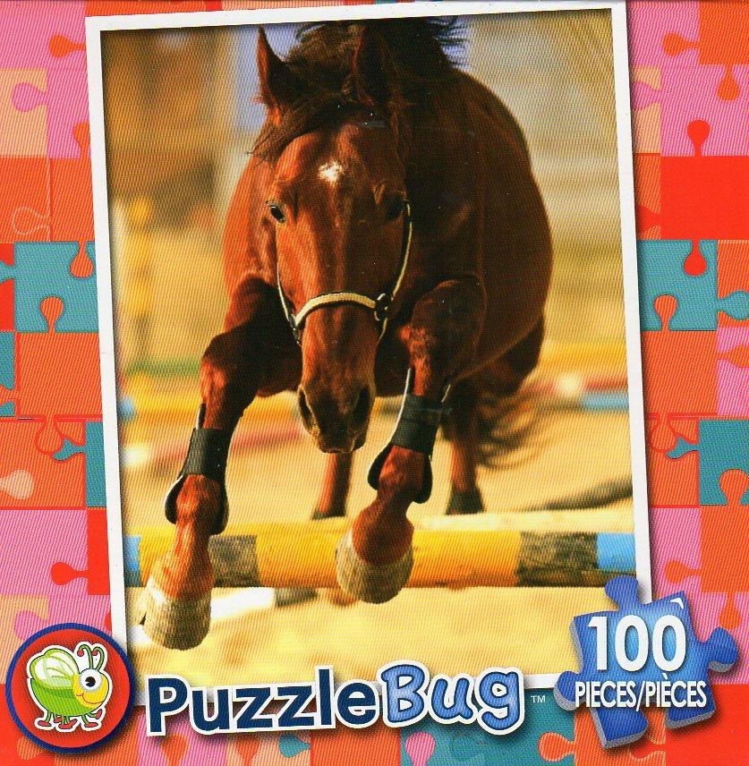 Show Horse  - Puzzlebug 100 Piece Jigsaw Puzzle