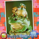 Froggy Pileup  - Puzzlebug 100 Piece Jigsaw Puzzle