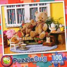 Teddy tea Time - Puzzlebug 100 Piece Jigsaw Puzzle