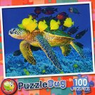 Swimming with the Fishies - Puzzlebug 100 Piece Jigsaw Puzzle