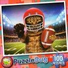 Scratch my Quarterback - Puzzlebug 100 Piece Jigsaw Puzzle