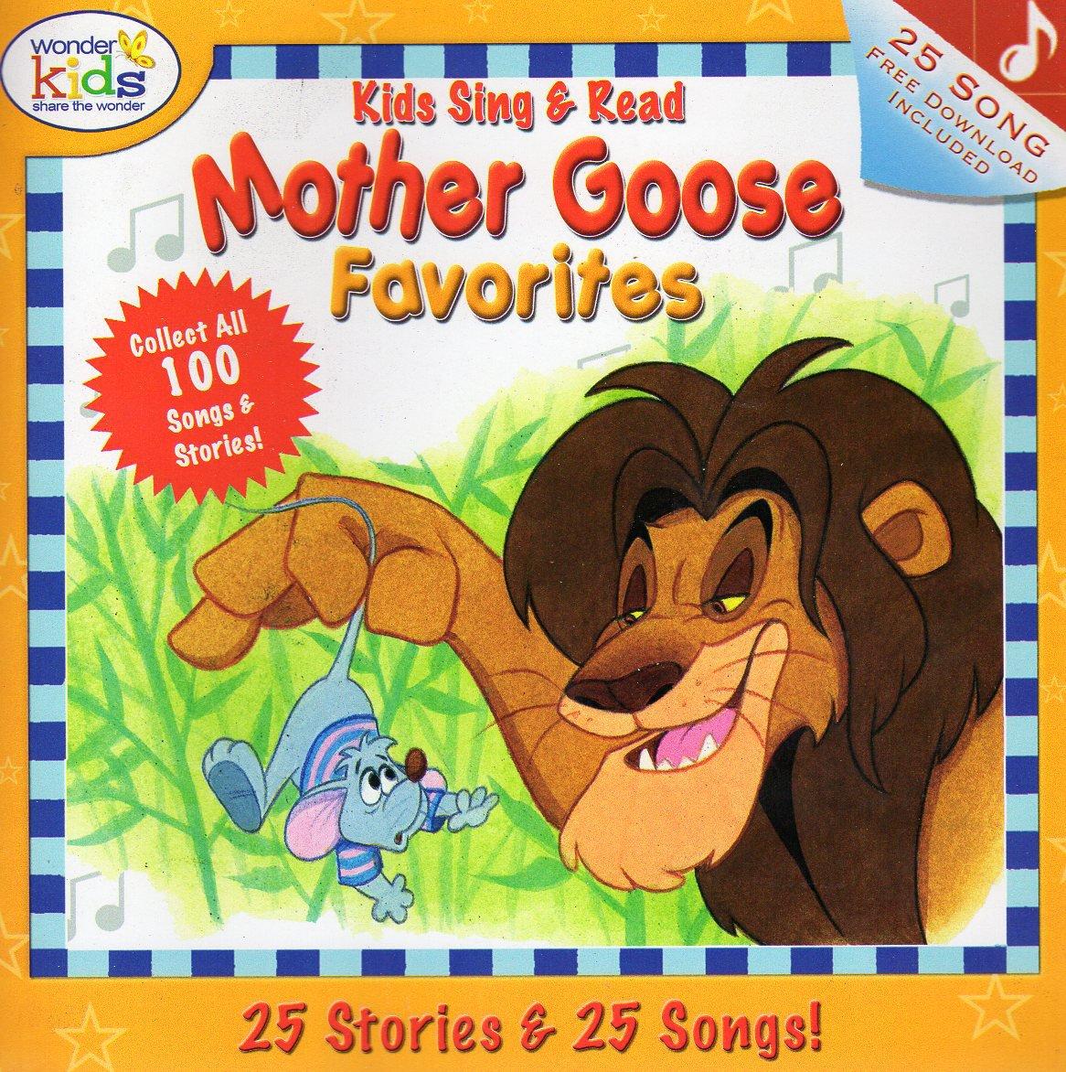 Kids Sing & Read Mother Goose Favorites 25 Stories & 25 Songs! - v1