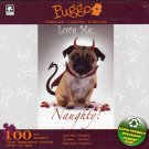 Love me Naught  - Puggo Puzzle Collection - 100 Piece Jigsaw Puzzle