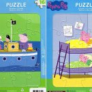 Peppa Pig - 16 Pieces Piece Jigsaw Puzzle - (Set of 2 Puzzles) v1