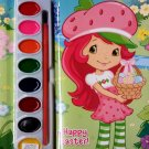 Strawberry Shortcake - Paint Box Book to Color - Happy Easter - Coloring & Activity Book - v2