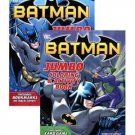 2-Pack Batman Jumbo Coloring & Activity Book 96 pages