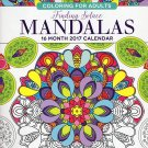 Animals - Adult Coloring Calendar - 16 Month Wall Calendars 2017Mandalas