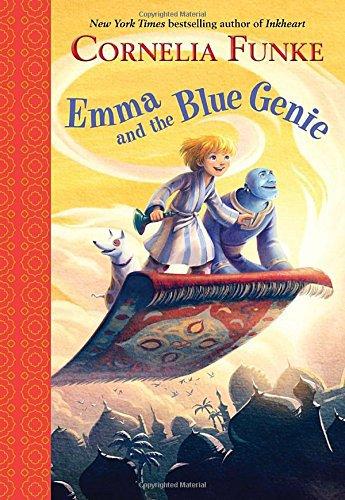 Emma and the Blue Genie (Junior Library Guild Selection) . Book.    Cornelia Funke