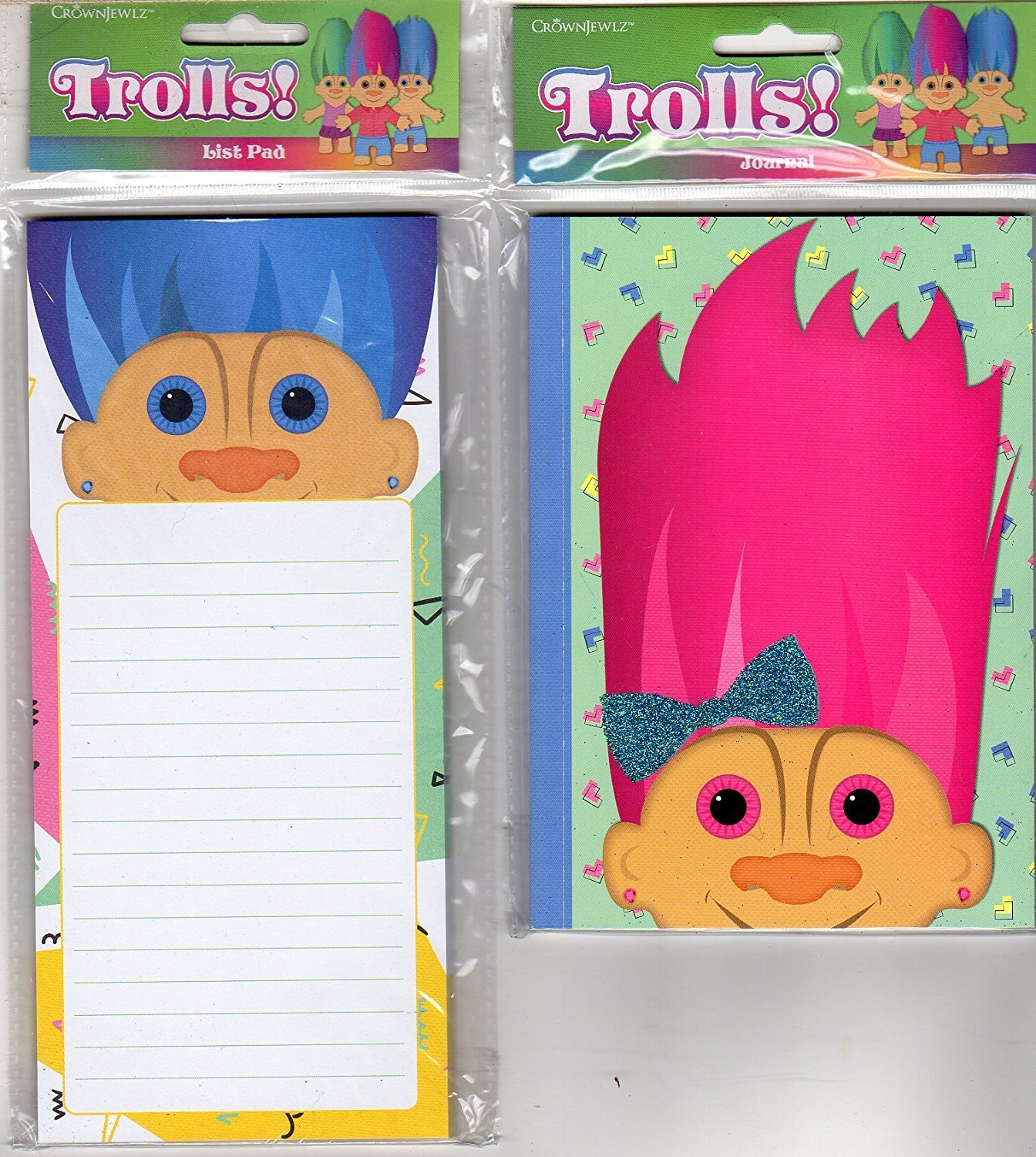Trolls! Journal and List Pad / Notepad - v2