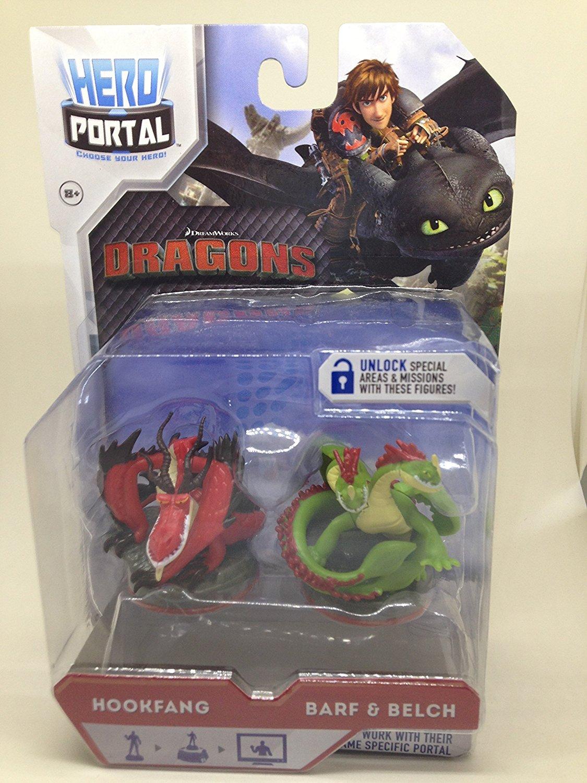 Dragons Hero Portal Booster Pack Hookfang and Barf & Belch