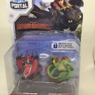 Dragons Hero Portal Booster Pack Hookfang and Barf & Belch