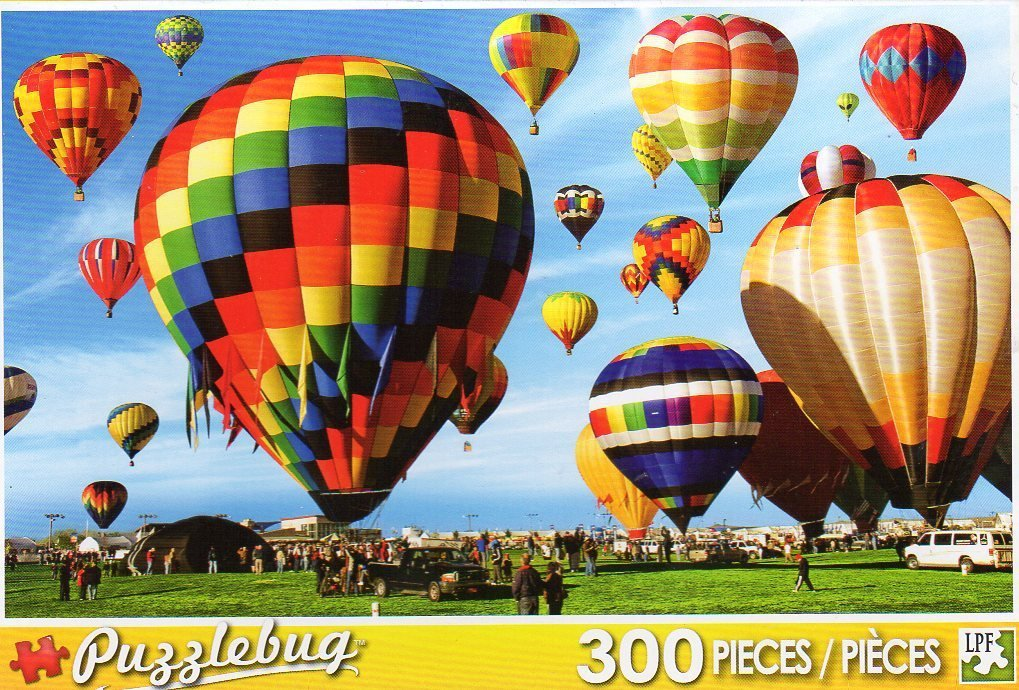 Hot Air Balloons - Puzzlebug 300 Piece Jigsaw Puzzle