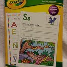 Crayola Alphabet Basic Skills Activity Book Ages 4+