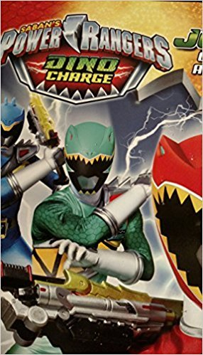 Power Rangers Dino Charge Jumbo Coloring & Activity Book