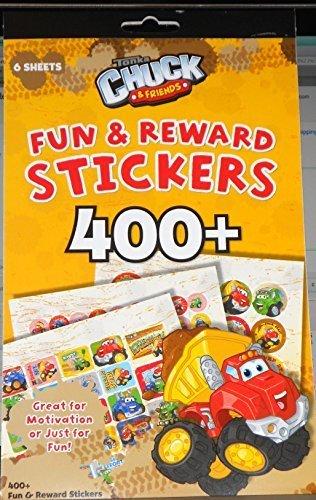 400+ Fun & Reward Stickers Tonka Chuck & Friends by Greenbrier