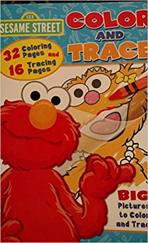 Sesame Street Color & Trace Workbook