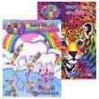 Lisa Frank Coloring Books 2 Asstd.96 pgs. by Lisa Frank