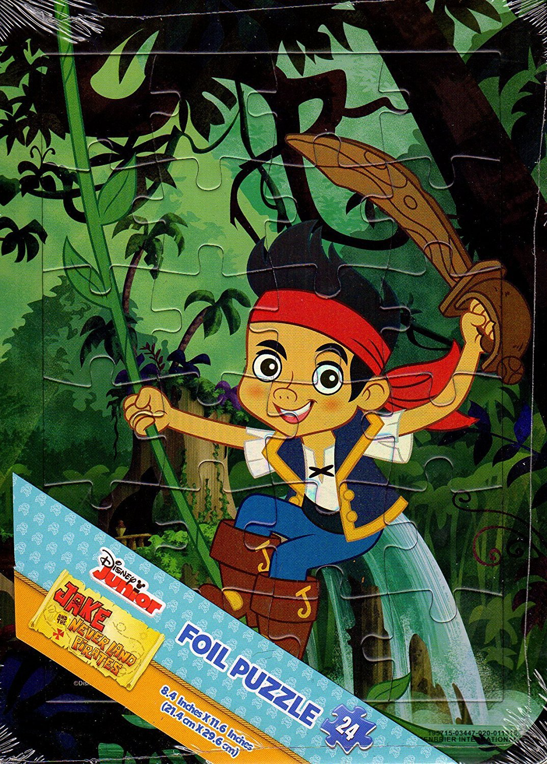 Jake and the Never Land Pirates - 24 Pieces Foil Jigsaw Puzzle - V2