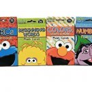 Sesame Street Educational Flash Cards for Early Learning