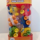 Play Right Baby Wheels - White Green Yellow Airplanes & Cars