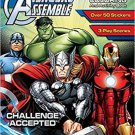 Avengers Assemble Sticker Scene Plus Coloring & Activity Book
