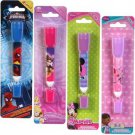 Character Flashlight with Pen 2 in 1 Mini LED, Characters Styles Vary