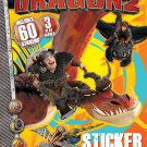 Bendon Publishing How to Train Your Dragon 2 Sticker Scene Plus Book to Color