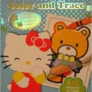 Hello Kitty: Color And Trace Activity Book