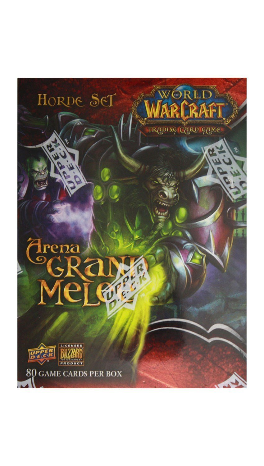 World of Warcraft TCG WoW Trading Card Game Arena Grand Melee Horde Set