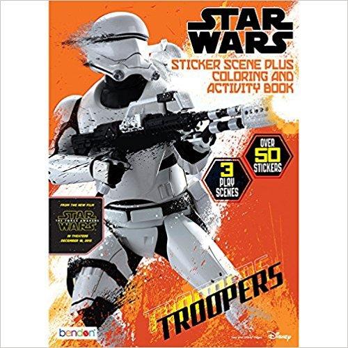Star Wars 7 Sticker Scene