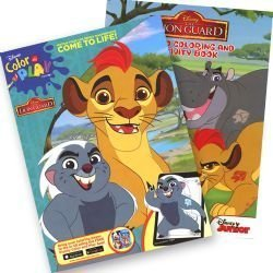Lion Guard Jumbo Coloring & Activity Book - set of 2 by Disney