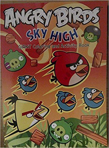Angry Birds Sky High Giant Coloring & Activity Book